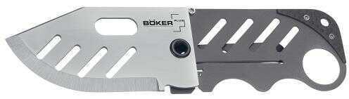 """Boker USA Inc. Boker Plus Folder 2.25"""" 440C Stainless Drop Point Stainless Steel 01BO010"""