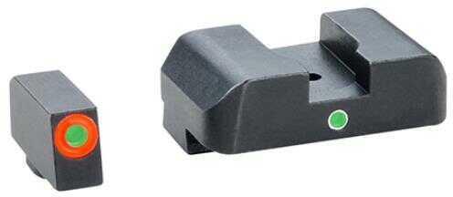 Ameriglo LLC. AmeriGlo Pro I-Dot Sight 2 Dot Glk 20,21,29,30,31,32,36 Green/Green Front/Rear ProGlo GL-203O