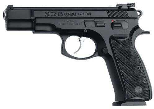 "CZ USA CZ 85 Combat 9mm Luger 4.7"" Barrel 10 Round Black Semi Automatic Pistol 01210"