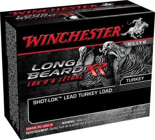 "Winchester Ammunition Long Beard XR 20 Gauge 3"" #5 1 1/4 oz Shotshell Shot-Lok with Plated Lead Shot 10 Round Box STLB20"