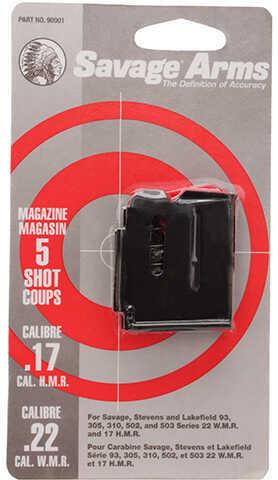 Savage Arms Magazine Box 90 Series, 5 Shot, Blued 90001