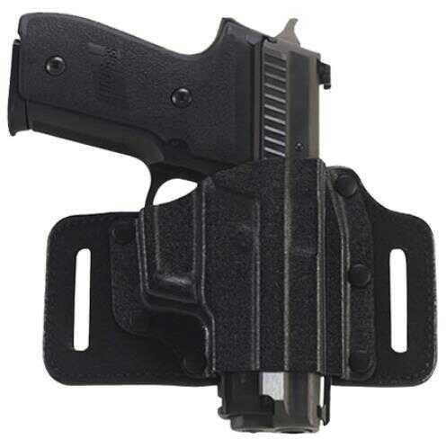 Galco International Galco Tac Slide Belt Holster S&W M&P Shield 9/40 Right Hand, Black Md: TS652B