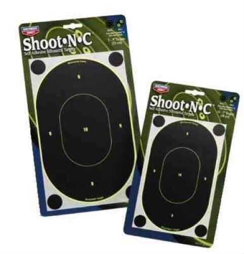 "Birchwood Casey BCASEY Shoot-N-C 7"" Oval Target 10P"