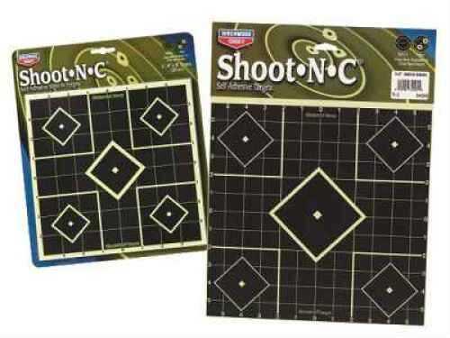 "Birchwood Casey B Casey Shoot-N-C 8"" Sight In 6Pk"
