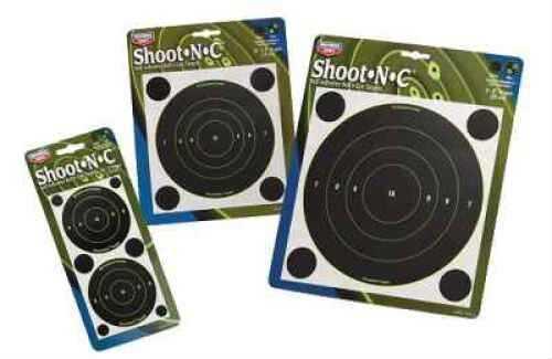 """Birchwood Casey Bc Shoot-N-C 5.5"""" Round Target 50Pk"""