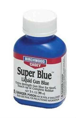 Birchwood Casey Super Blue Liquid Gun Blue 3 oz 13425