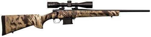 "Howa  Mini Bolt Action Rifle  Package   22"" Barrel   10+1 Rounds  223 Remington   Synthetic Kryptek Highlander Stock   With Nikko Stirling Panamax  3-9x 40mm  Scope   HMP60202KHC"