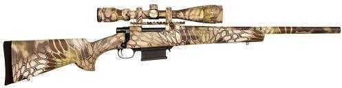 Howa Bolt Action Rifle 223 Remington With 4x16X44mm Scope    Synthetic Kryptek Highlander Camo Stock   Detachable Magazine   HKF90227KHF