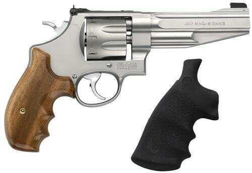 "Revolver Smith & Wesson M627 357 Magnum 5"" Barrel Stainless Steel Wood Grip 8 Round 170210"