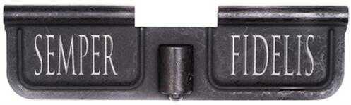 Spike's Tactical Spike SED7008 Ejection Port Door AR-15 Laser-Engraved Semper Fidelis Steel Black