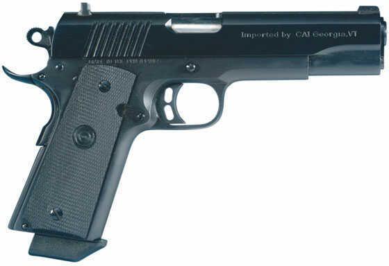 "Century Arms 1911 Elite Single 45ACP 5"" Barrel 8+1 Rounds Black Polymer Grip Black Frame Semi Automatic Pistol HG1118N"