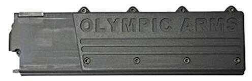 Olympic Arms AR-15 45 ACP 17-Round Magazine, Polymer Black Md: K45M