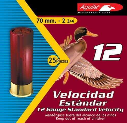 Aguila 12Ga Standard 4 (Case Price) 1CHB1214