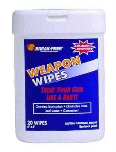 Breakfree BFI-WW Wipes Weapon Wipes Case of 24 BFI-WW-24