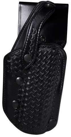 Bianchi Handgun AutoDraw Black Leather Holster Model 15562