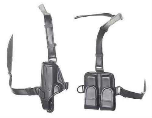 Bianchi 7700 LeatherLite Shoulder Holster System Black, Size 15-2, Right Hand 19808