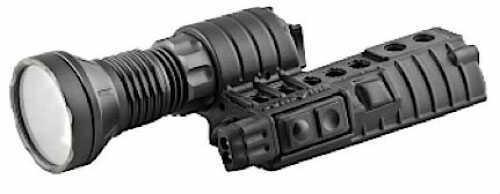 Surefire M500 LT 3 123A Black w/Blue/Green/White Lights M500LTBKWH