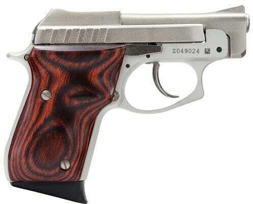 "Taurus 22 Small Frame 22 Long Rifle Pistol 2.75"" Barrel 8+1 Rounds  Rosewood Grip   Nickel 1220035R"