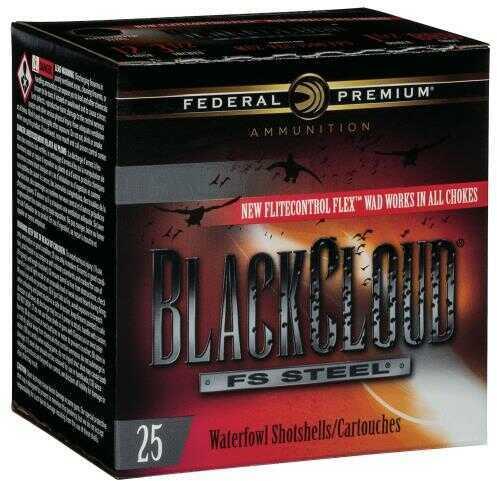 "Federal PWBX142BBB Black Cloud 12 Gauge 3"" 1-1/4 oz BBB Shot 25 Bx/ 10 Cs"