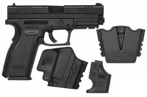 "Springfield Armory XD Service 357 Sig Sauer 4"" Barrel 10 Round Polymer Grip Black Semi-Auto Pistol XD9103SP06"