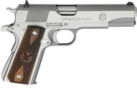 "Springfield Armory Springfield 1911 Mil-Spec 45ACP 5"" Barrel 7 Round Cocobolo Wood Grip Semi Automatic Pistol PB9151LP"