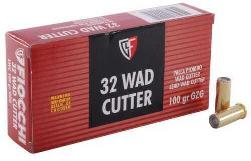 Fiocchi 32 S&W Long 100 Grain Lead Wadcutter Ammunition Md: 32LA 50 Rds