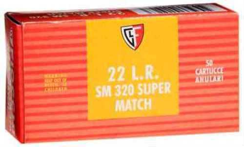 Fiocchi Ammo Fiocchii 22 Long Rifle 40 Grain Round Nose Ammunition 50 Rounds Per Box Md: 22SM320