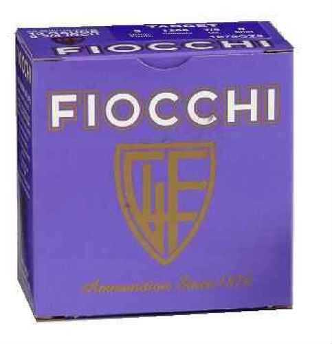 "Fiocchi Ammo Premium Target 12 Ga. 2 3/4"" 1 oz #8 Lead Shot 25 Rounds Per Box Ammunition Md: 12SCRS Case Price 25 12SCRS"