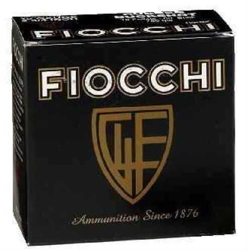 """Fiocchi Ammo Interceptor Spreader 12 Ga. 2 3/4"""" 1 1/8 oz #8 1/2 Lead Shot Ammunition Md: 12SSCH Case Price 250 Ro 12SSCH"""