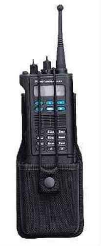 Bianchi 7314S AccuMold Universal Radio Holster with Swivel Black 18521