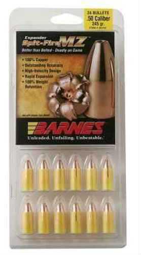 Barnes Bullets 50 Caliber Bullets 285 Grain SpitFire Muzzleloader (Per 24) 45154