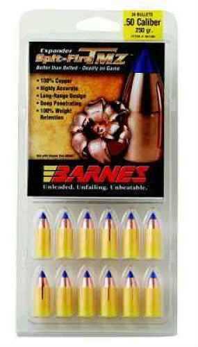 Barnes Bullets 50 Caliber Bullets 250 Grain SpitFire Muzzleloader (Per 24) 45180