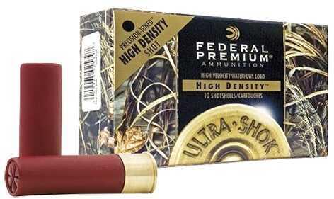 "Federal Cartridge Federal Ultra Shok High Density 12 Ga. 3"" 1 3/8 oz #4 Tungsten/Iron Shot Ammunition Md: PHD1974"