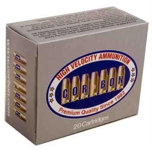 Corbon 400COR 135Gr JHP 20 Per Box SD400CB13520