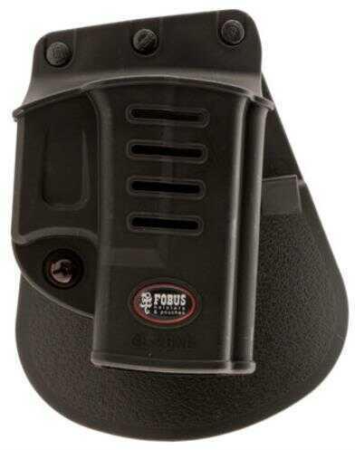 "Fobus Gl26nd Standard Paddle 3"" Barrel Glock 26 Plastic Black"