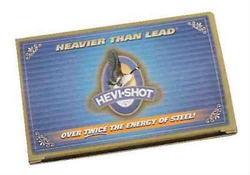 "Hevi-Shot Waterfowl Ultra Density 12 Gauge 3"" 1 1/2 oz #4 Hevi-Shot 10 Rounds Per Box Ammunition Md: 4 45354"