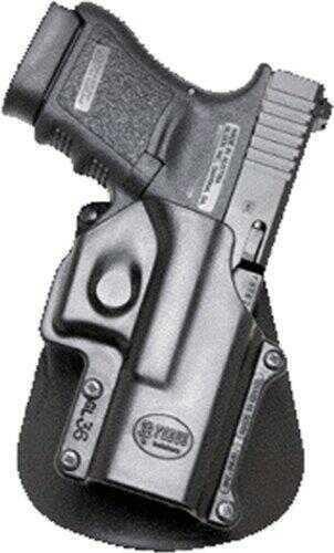 Fobus Gl26ndrp Roto Paddle Right Hand Glock 26 Plastic Black