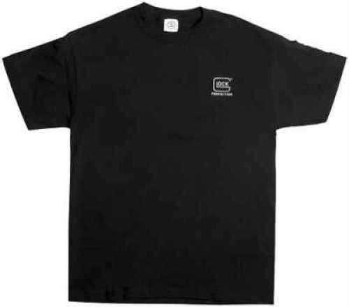 Glock Short Sleeve Medium Black T-Shirt Md: GA10008