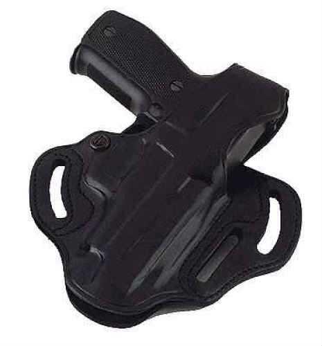 Galco International Galco Cop 3 Slot Black Belt Holster w/Reinforced Thumb Break/Kahr Arms K40/K9/P40/P45/P9 Md: CTS290B CTS290B