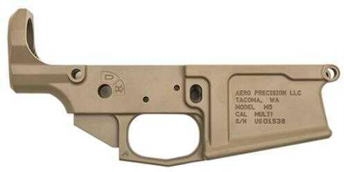 Lower Reveiver Aero Precision AR-10 Rifle .308 Lower Receiver Flat Dark Earth Cerakote