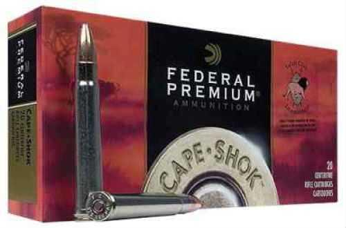 Federal Cartridge PRemium 416 Rem 400Gr Nosler Solid Base Ammunition P416RA
