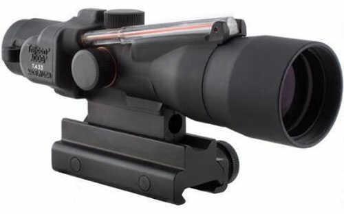 Trijicon ACOG TA33R-11 3x30 Rifle Scope Illuminated Red Crosshair .223 Remington Ballistic Reticle 1/4 MOA
