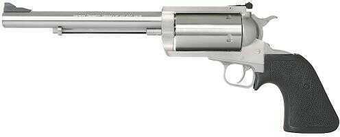 "Magnum Research Big Frame 460 S&W Magnum 7.5"" Barrel 5 Round Black Hogue Rubber Grip Stainless Steel Revolver BFR460SW7"