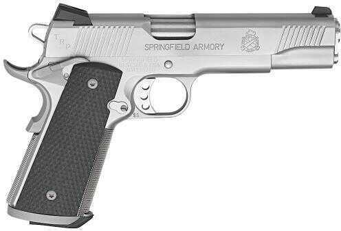 "Springfield Armory 1911 TRP 45 ACP 5"" Barrel 7 Round Tritium Night Sights G10 Grip Stainless Steel Semi Automatic Pistol PC9107LP"