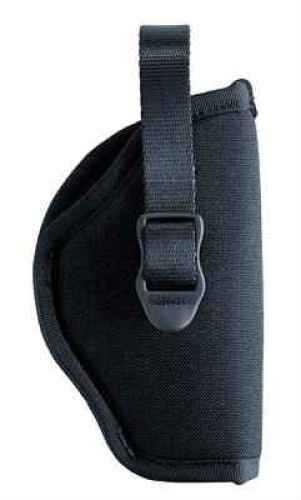 "BlackHawk Products Group Hip Nylon Belt Holster Right Hand, 4.5""-5"", Large Auto 73NH04BK-R"