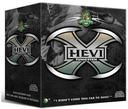 Hevi-Shot Hevi-X 20 Gauge 1 Ounce 3-Inch #2 Tungsten Shotshells, 25 Per Box Md: 52302