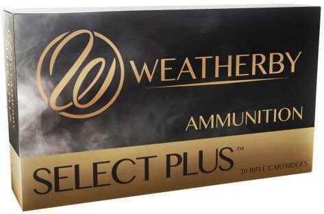Weatherby Select Plus 6.5mm-300 Magnum 140 Grain Swift A-Frame Ammunition, 20 Rounds Per Box Md: F653140AF