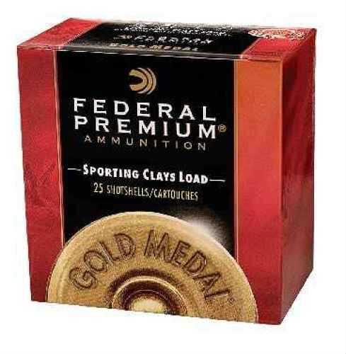 """Federal Gold Medal Sporting Clay 12 Ga. 2 3/4"""" 1 oz #8 Ammunition Md: SC1788"""