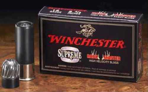 "Winchester RACKMASTER 12G 2.75"" SLUG 5BX S12SR1"