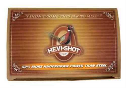 "Hevi-Shot Pheasant Heavy Density 12 Gauge 2 3/4"" 1 1/8 oz #4 Hevi-Shot 100 Rounds Ammunition Md: 42234"